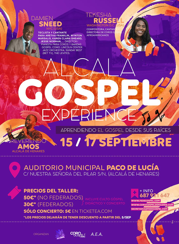 alcala gospel experience