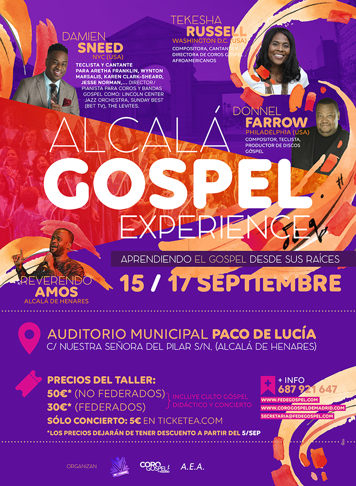 alcala gospel experience en madrid