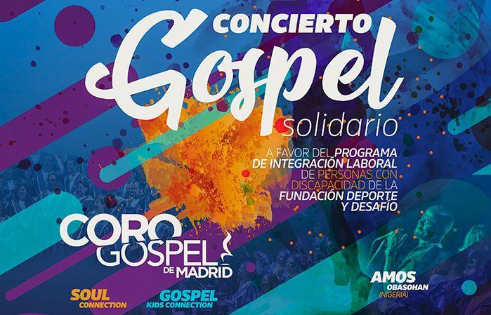 Concierto Gospel Solidario en Madrid